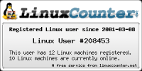 Linux User #208453