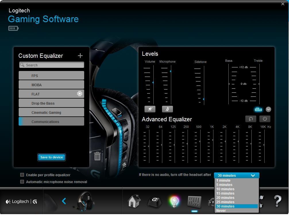 Logitech G933 Wireless Headset on Linux | hobo house
