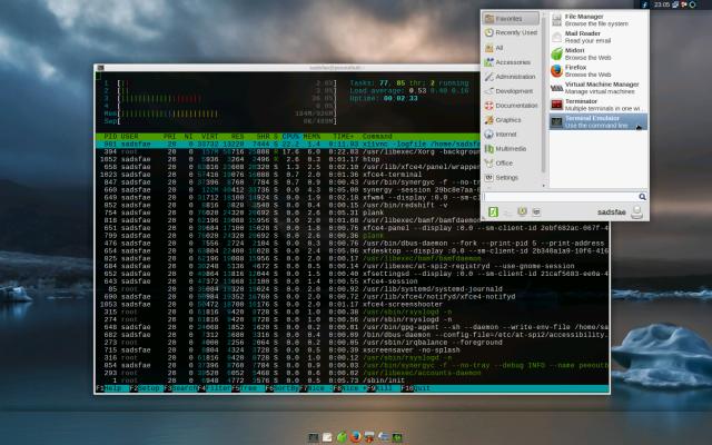 f23-rpi3-xfce-desktop