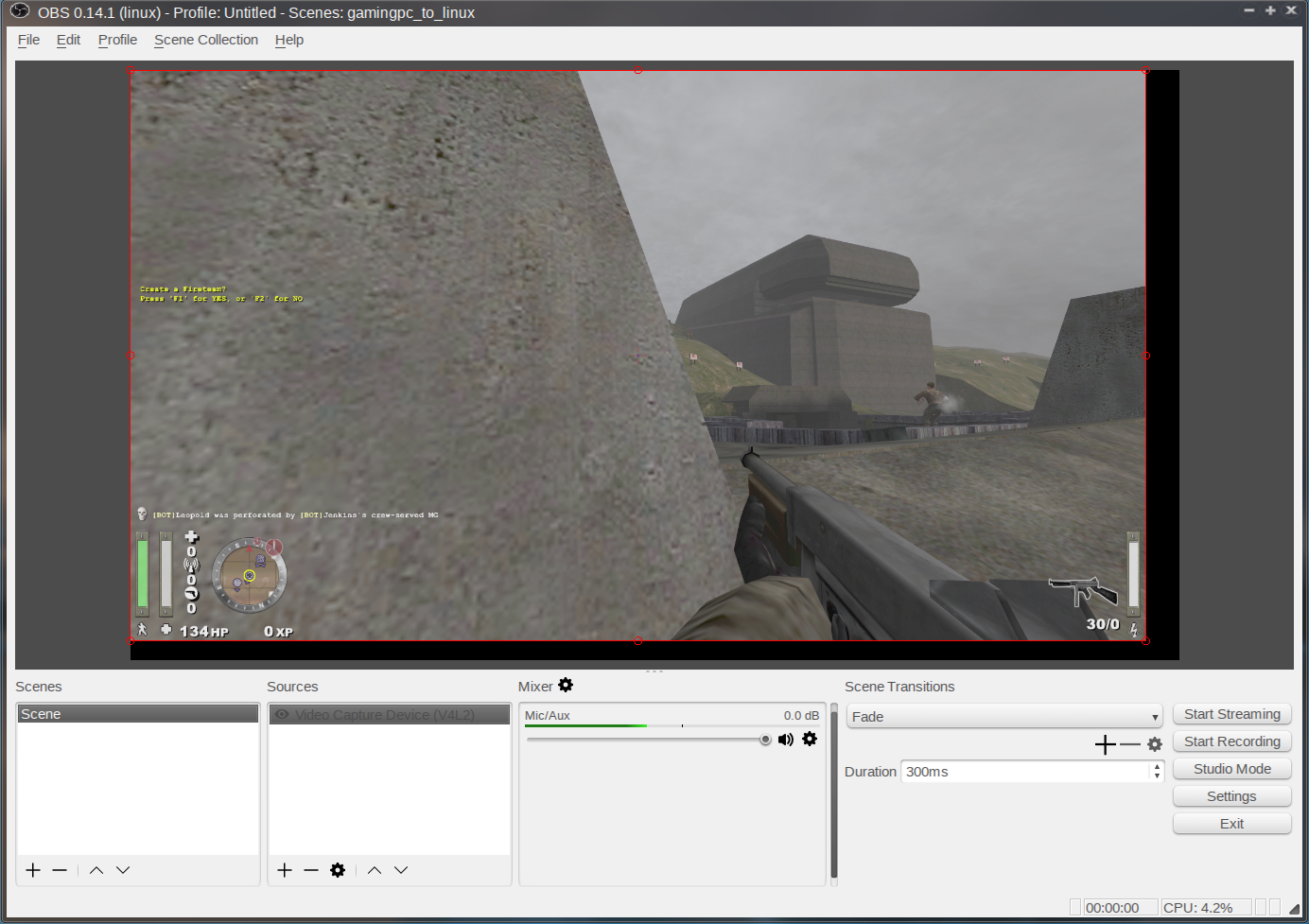 Create an HD Gaming Capture/Streaming Setup with Linux
