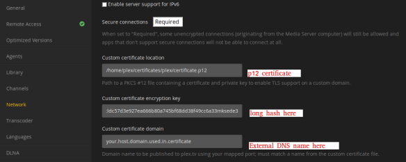 How to Use Self-signed SSL Certificates for Plex Media
