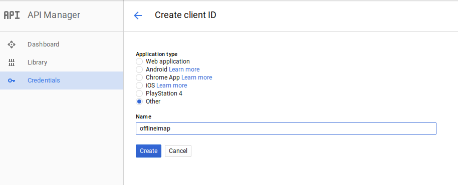 Using Offlineimap with the Gmail IMAP API | hobo house