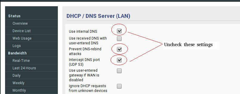 Unifi Block Dns